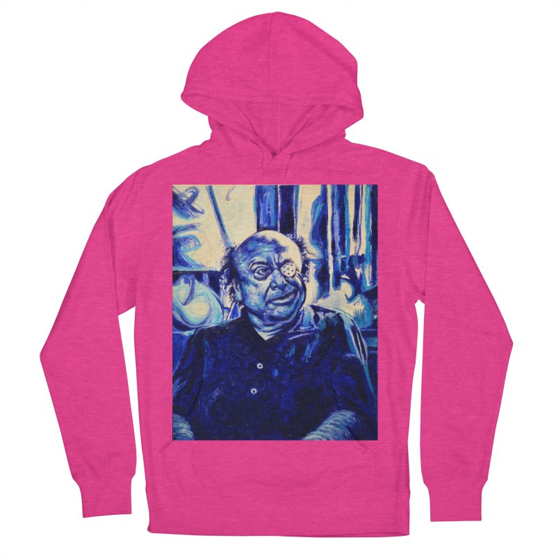 cracker eye Women's French Terry Pullover Hoody by paintings by Seamus Wray