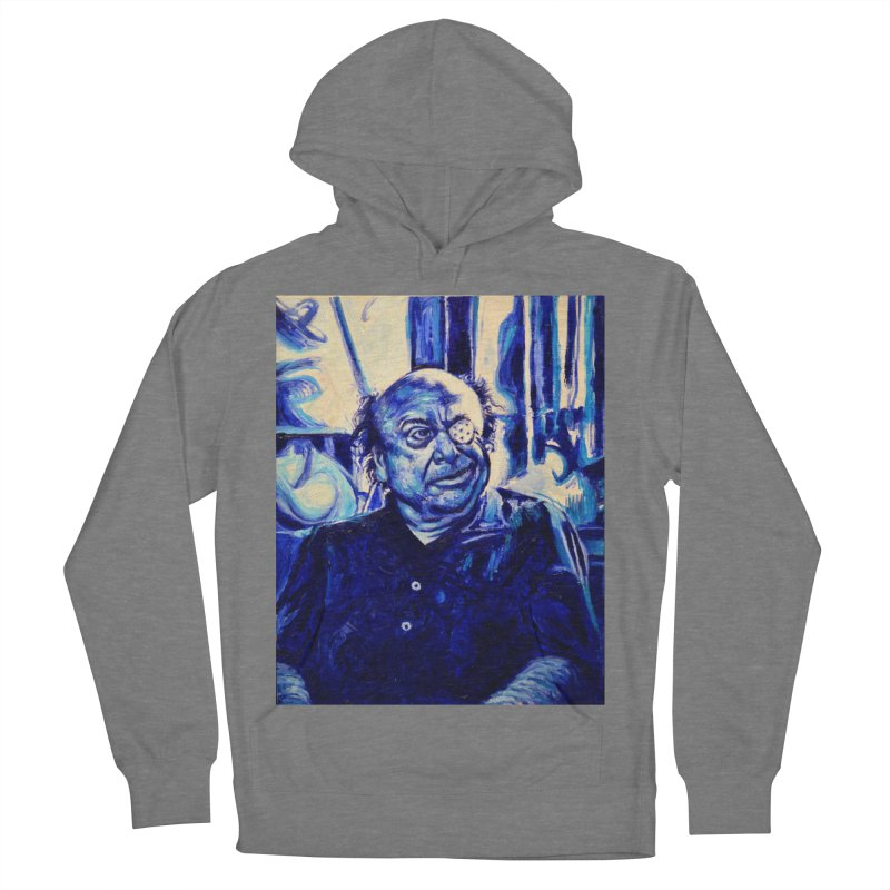 cracker eye Men's French Terry Pullover Hoody by paintings by Seamus Wray