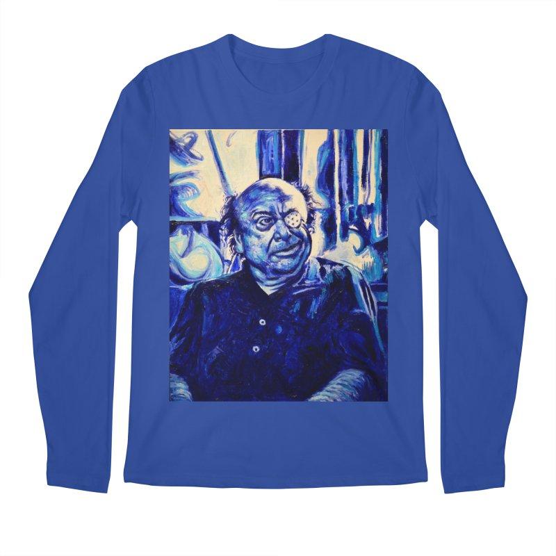 cracker eye Men's Regular Longsleeve T-Shirt by paintings by Seamus Wray