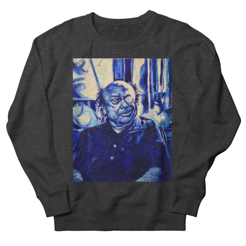 cracker eye Men's French Terry Sweatshirt by paintings by Seamus Wray