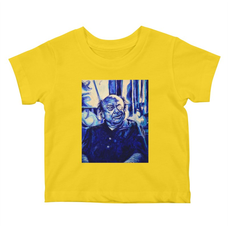 cracker eye Kids Baby T-Shirt by paintings by Seamus Wray