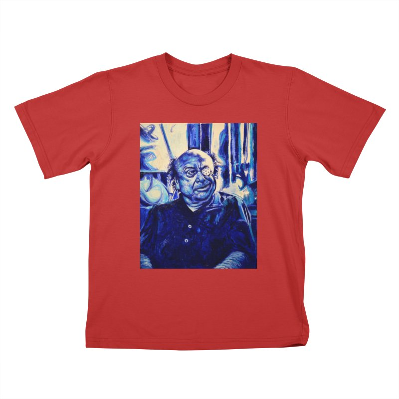 cracker eye Kids T-Shirt by paintings by Seamus Wray
