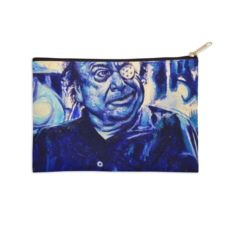 cracker eye Accessories Zip Pouch by paintings by Seamus Wray