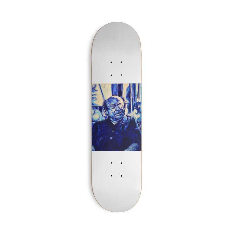 cracker eye Accessories Deck Only Skateboard by paintings by Seamus Wray