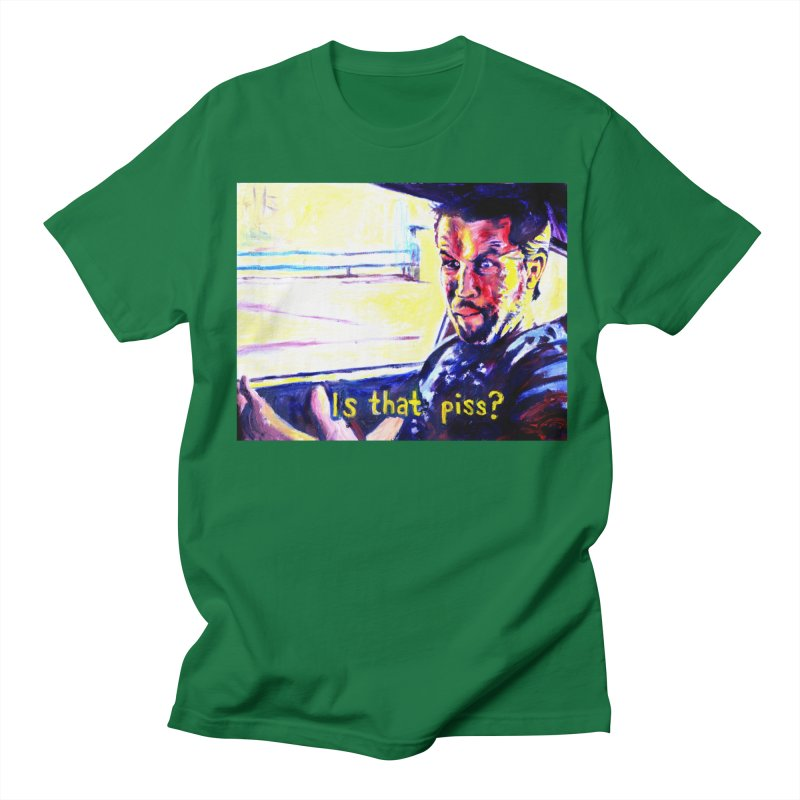 is that piss Men's Regular T-Shirt by paintings by Seamus Wray