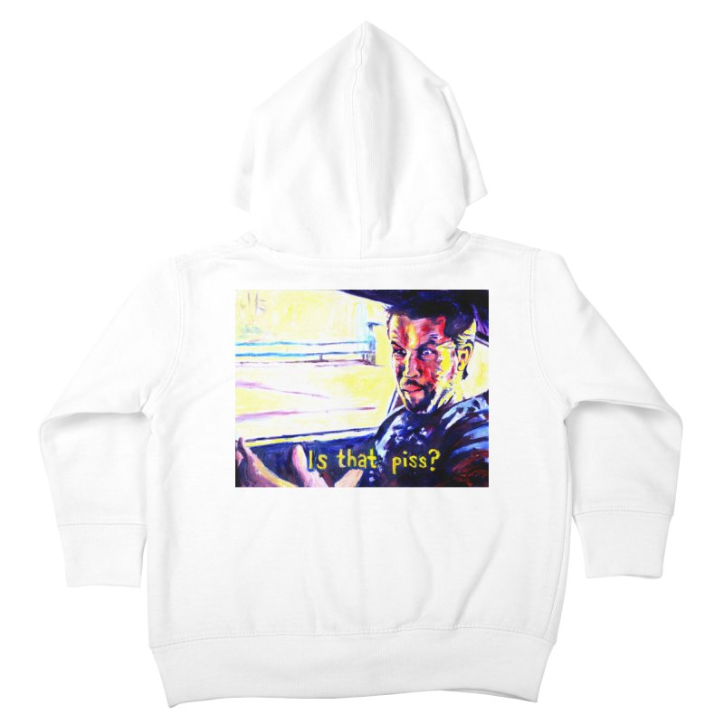 is that piss Kids Toddler Zip-Up Hoody by paintings by Seamus Wray