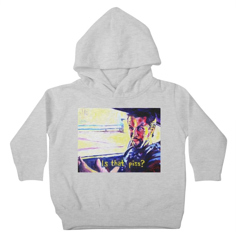 is that piss Kids Toddler Pullover Hoody by paintings by Seamus Wray
