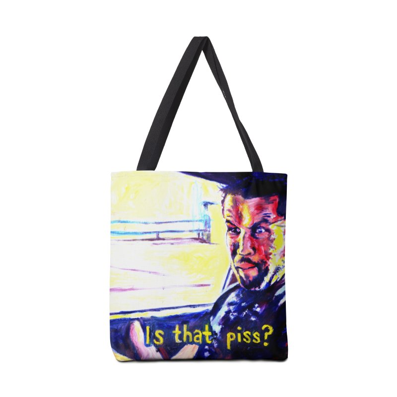 is that piss Accessories Tote Bag Bag by paintings by Seamus Wray