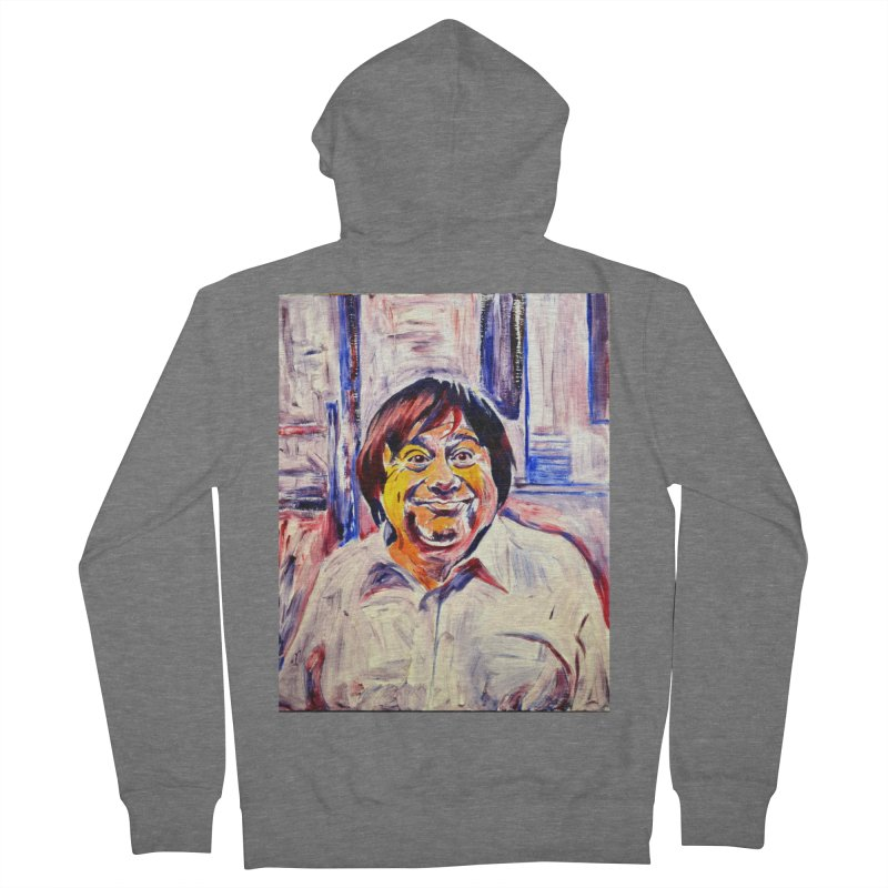 19 Women's French Terry Zip-Up Hoody by paintings by Seamus Wray