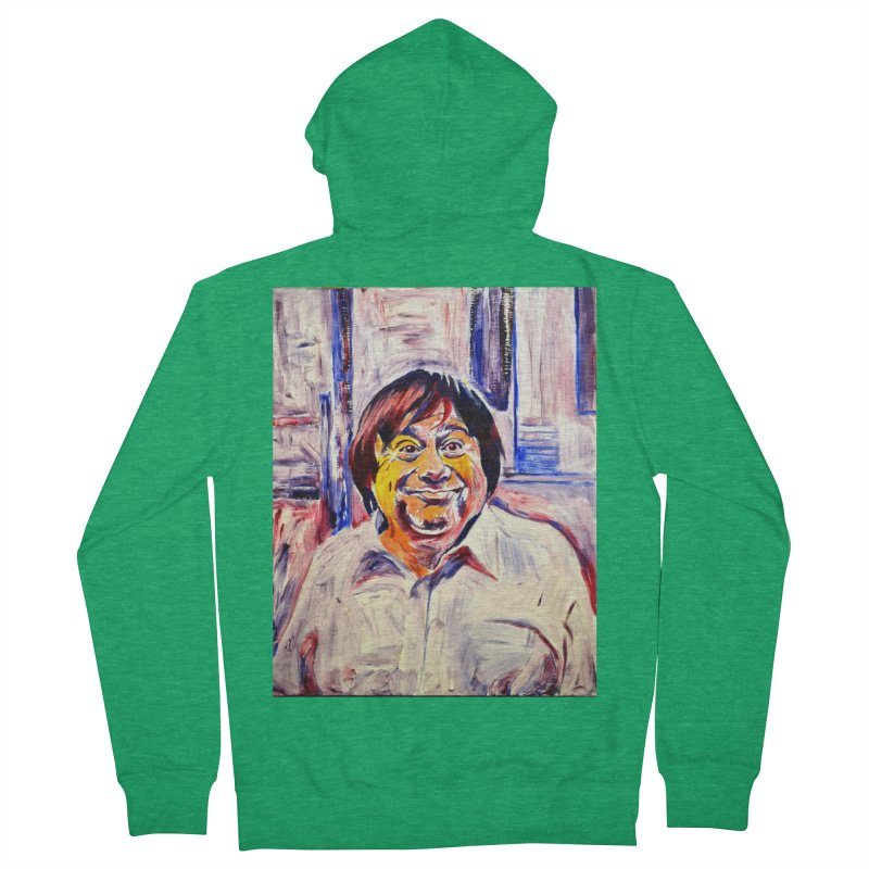 19 Men's French Terry Zip-Up Hoody by paintings by Seamus Wray