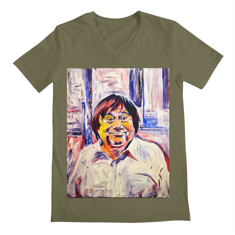 19 Men's Regular V-Neck by paintings by Seamus Wray