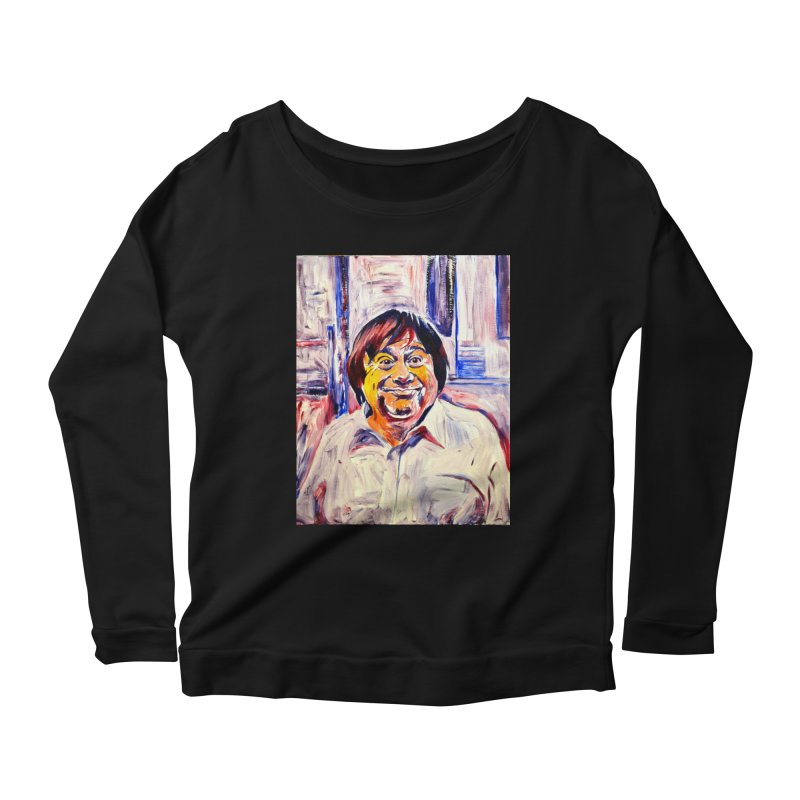 19 Women's Scoop Neck Longsleeve T-Shirt by paintings by Seamus Wray