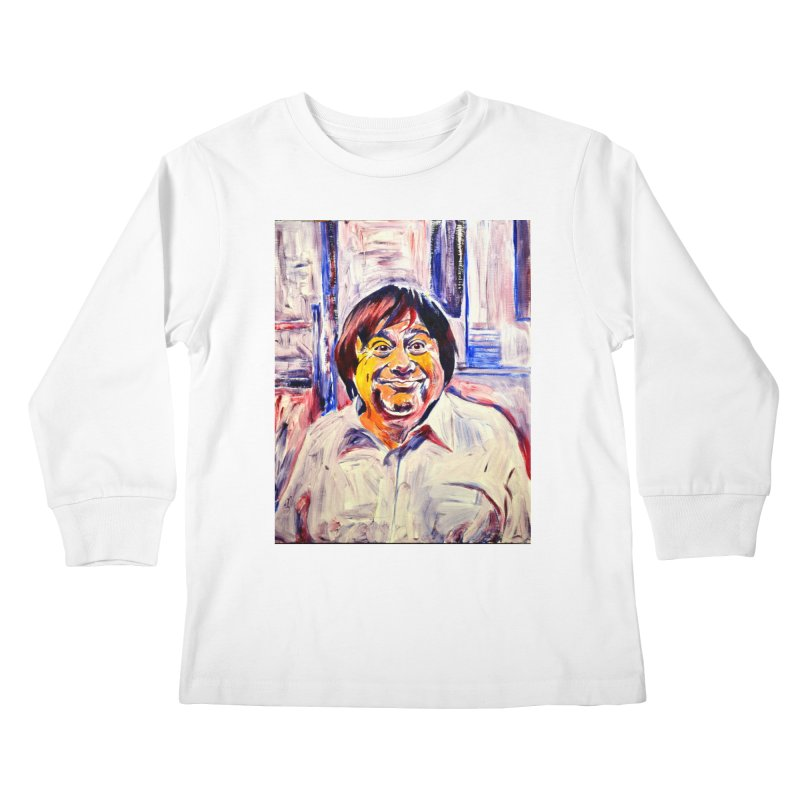 19 Kids Longsleeve T-Shirt by paintings by Seamus Wray
