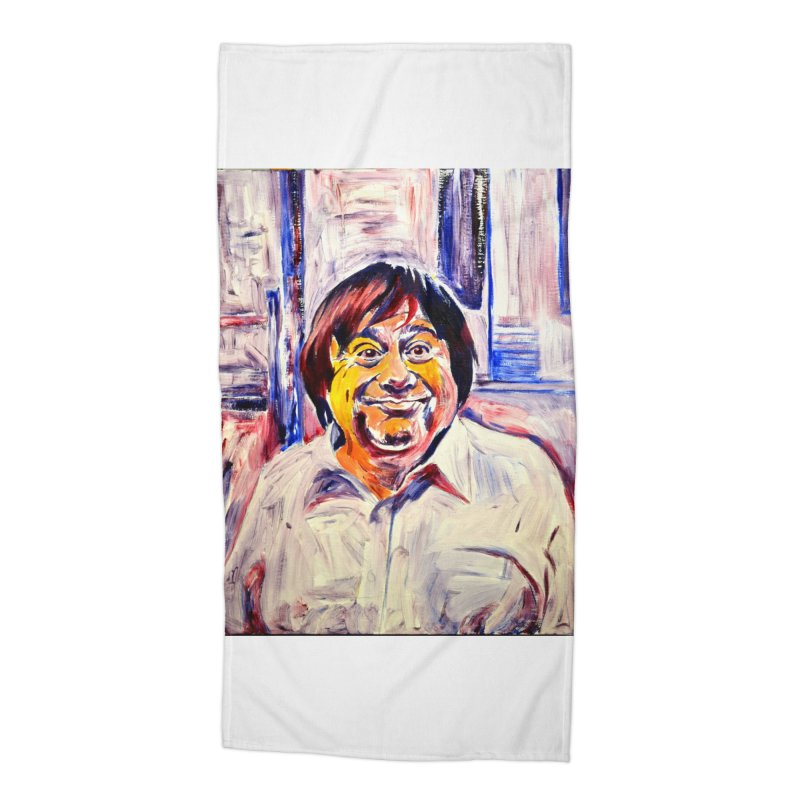 19 Accessories Beach Towel by paintings by Seamus Wray