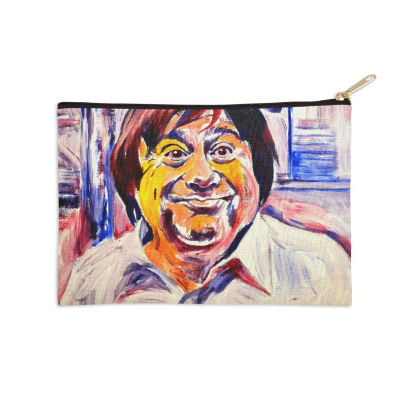 19 Accessories Zip Pouch by paintings by Seamus Wray