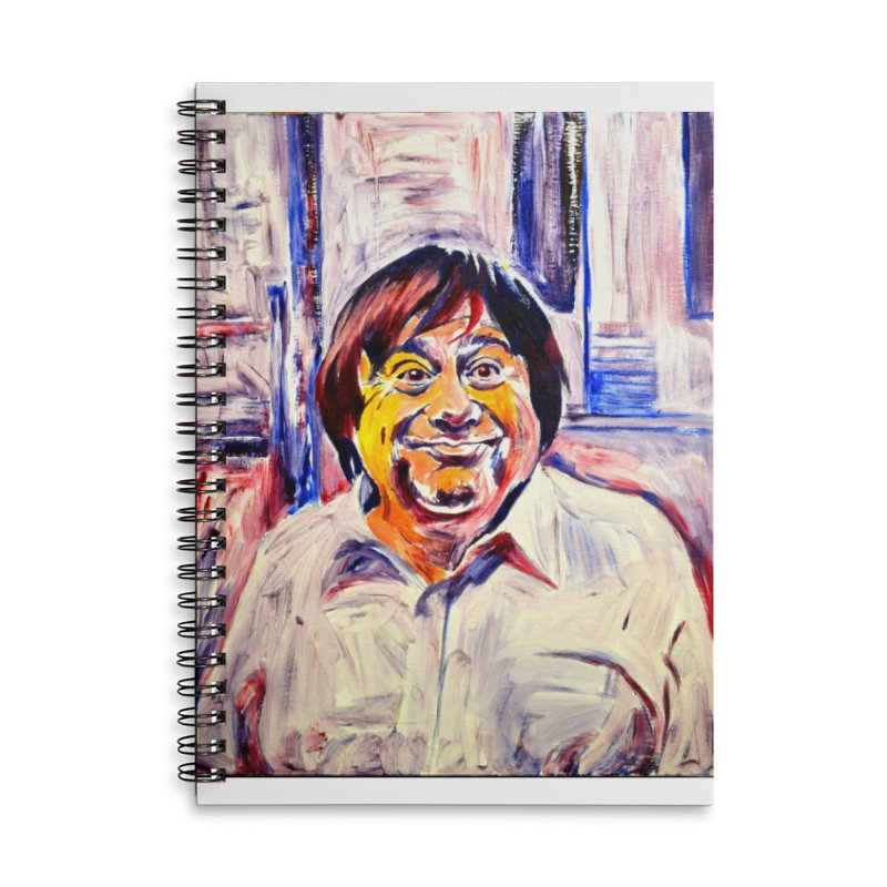 19 Accessories Lined Spiral Notebook by paintings by Seamus Wray