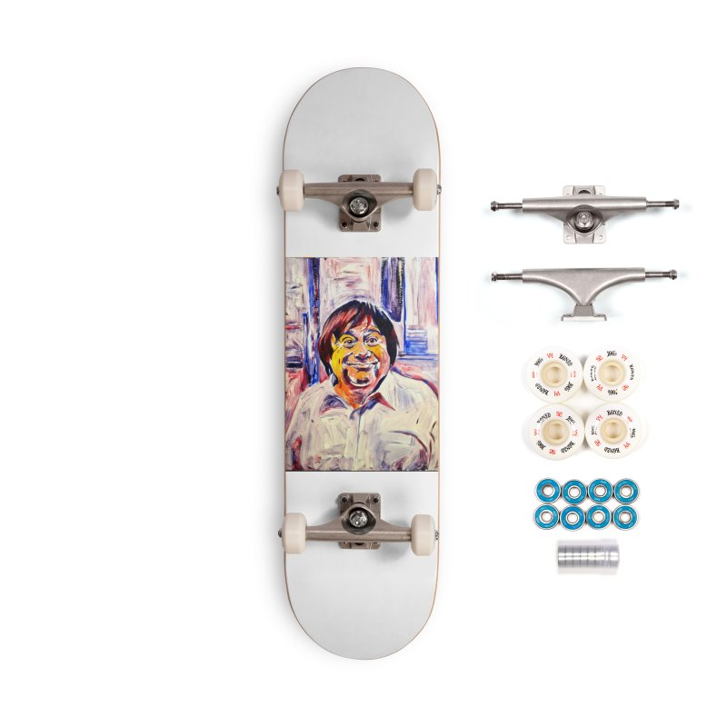 19 Accessories Complete - Premium Skateboard by paintings by Seamus Wray
