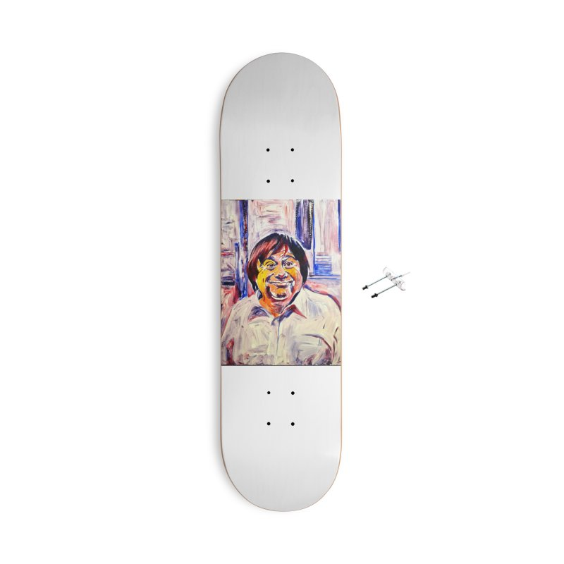 19 Accessories With Hanging Hardware Skateboard by paintings by Seamus Wray