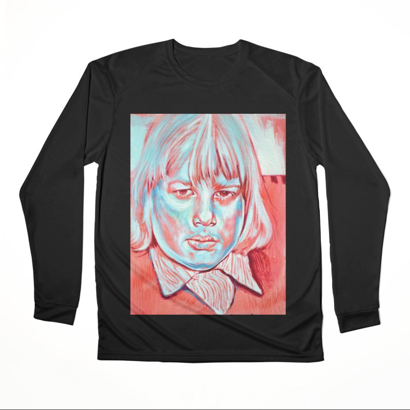 boris johnson Women's Performance Unisex Longsleeve T-Shirt by paintings by Seamus Wray