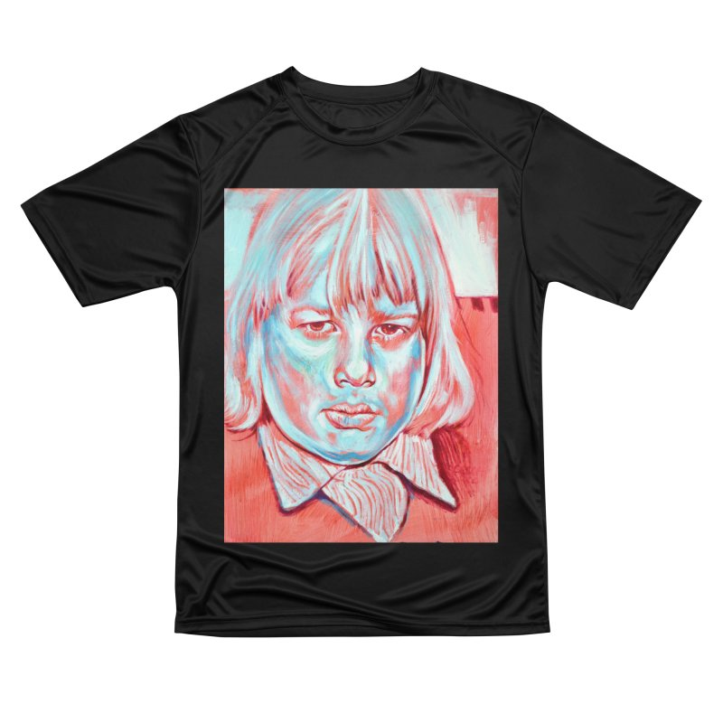 boris johnson Women's Performance Unisex T-Shirt by paintings by Seamus Wray