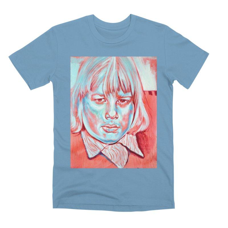boris johnson Men's Premium T-Shirt by paintings by Seamus Wray