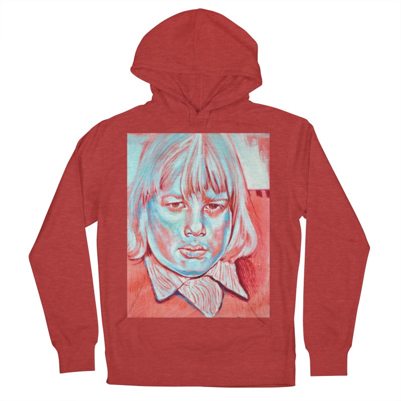 boris johnson Women's French Terry Pullover Hoody by paintings by Seamus Wray