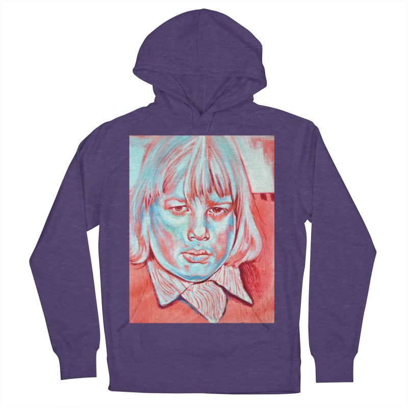 boris johnson Men's French Terry Pullover Hoody by paintings by Seamus Wray