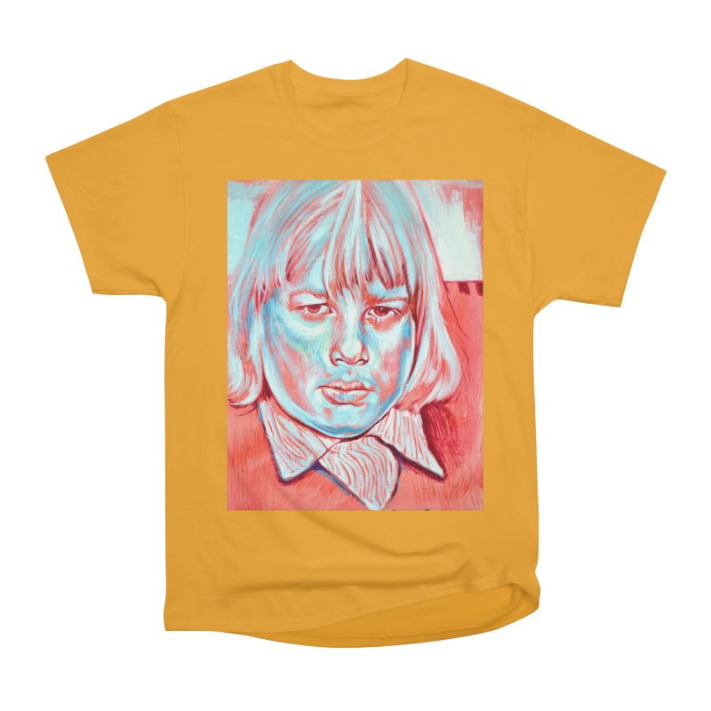 boris johnson Women's Heavyweight Unisex T-Shirt by paintings by Seamus Wray
