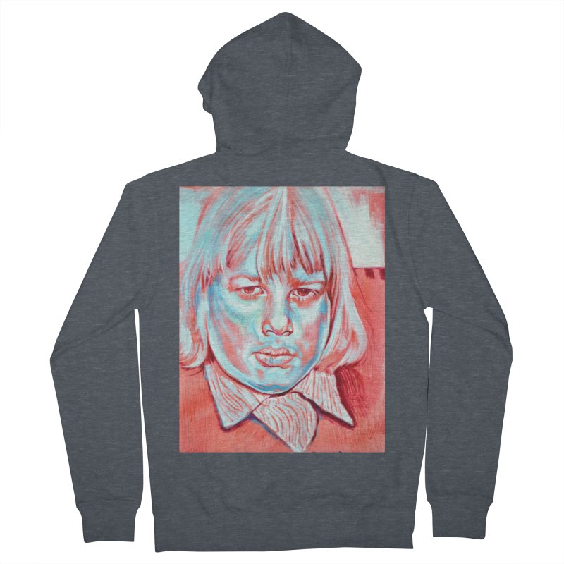 boris johnson Women's French Terry Zip-Up Hoody by paintings by Seamus Wray