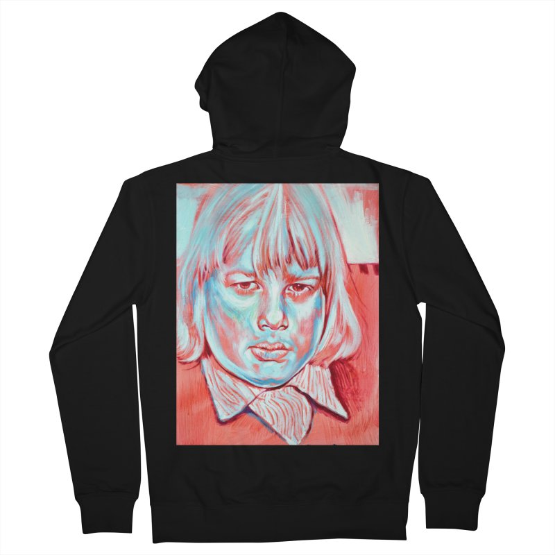 boris johnson Men's French Terry Zip-Up Hoody by paintings by Seamus Wray