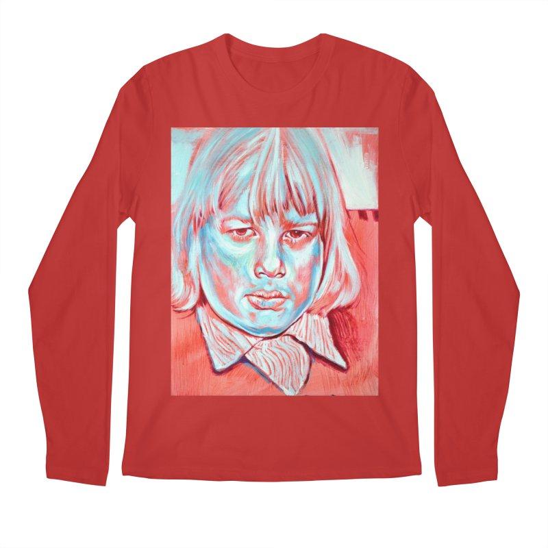 boris johnson Men's Regular Longsleeve T-Shirt by paintings by Seamus Wray