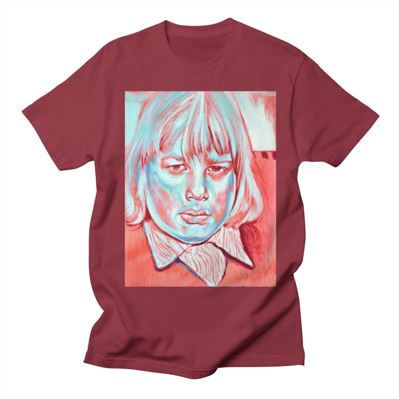 boris johnson Men's Regular T-Shirt by paintings by Seamus Wray