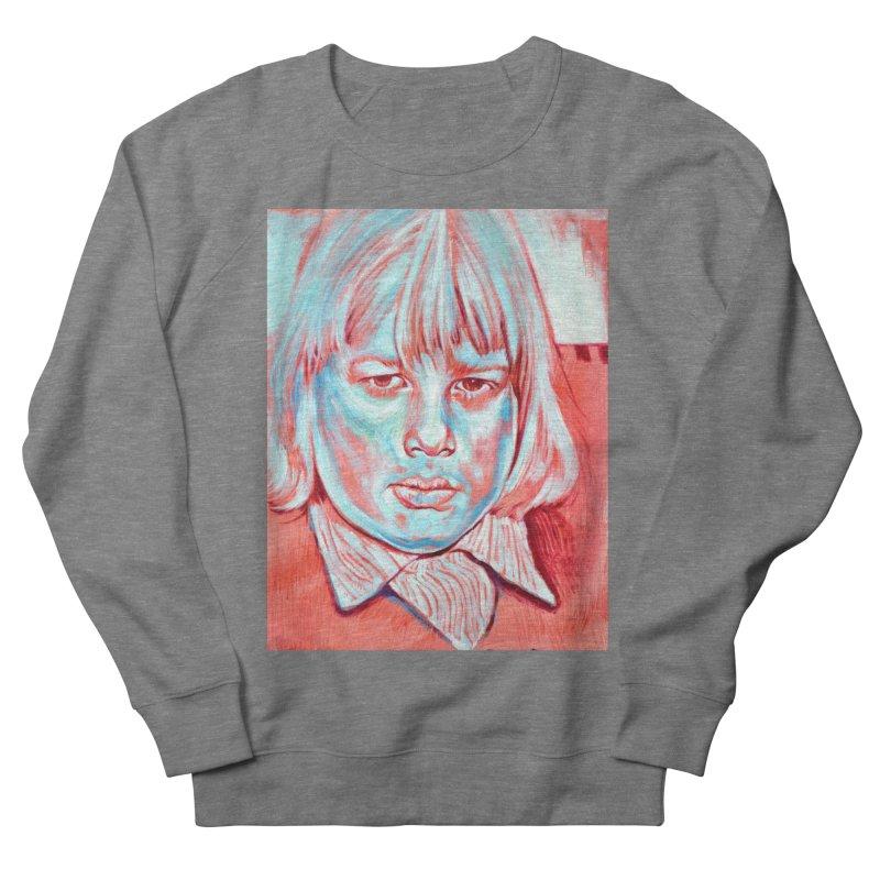 boris johnson Women's French Terry Sweatshirt by paintings by Seamus Wray