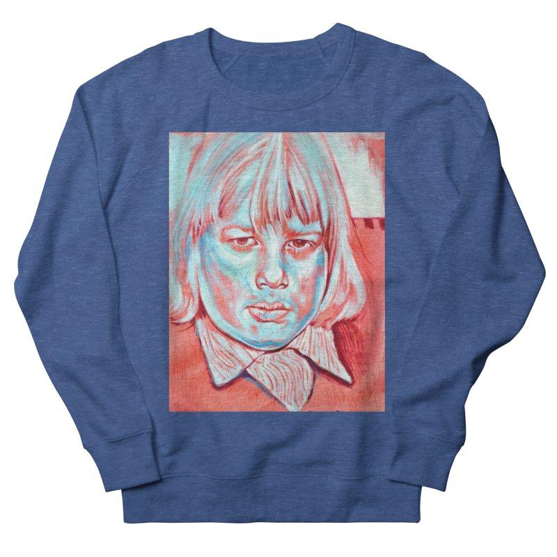 boris johnson Men's French Terry Sweatshirt by paintings by Seamus Wray