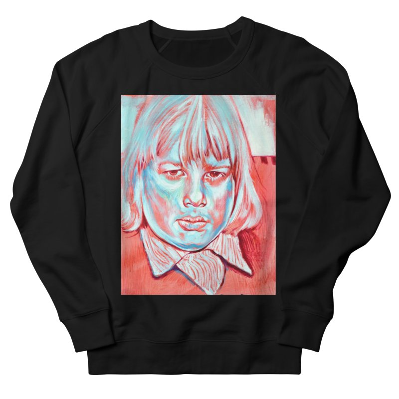boris johnson Men's French Terry Sweatshirt by paintings by Seamus Wray