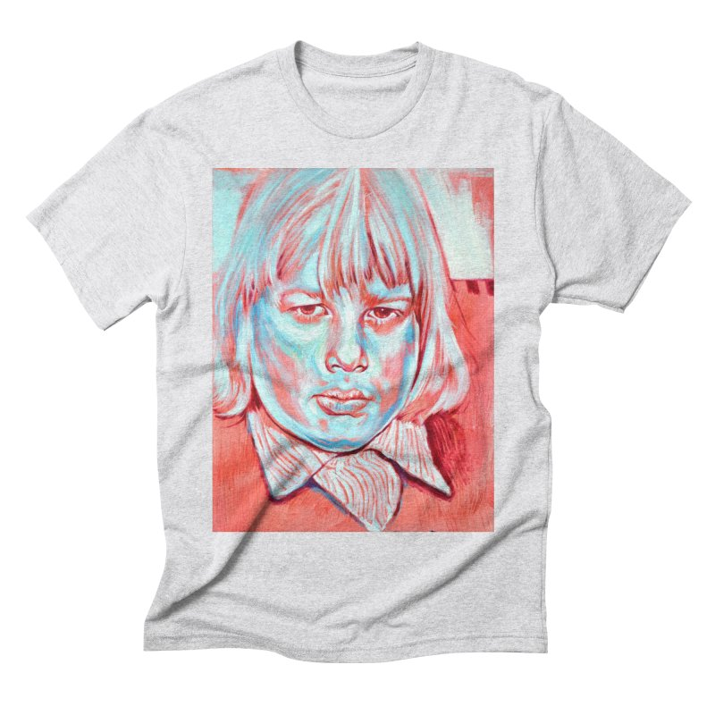 boris johnson Men's Triblend T-Shirt by paintings by Seamus Wray
