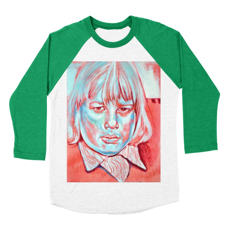 boris johnson Women's Baseball Triblend Longsleeve T-Shirt by paintings by Seamus Wray