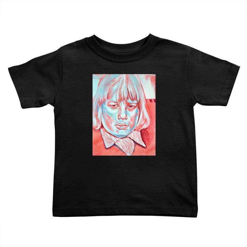 boris johnson Kids Toddler T-Shirt by paintings by Seamus Wray