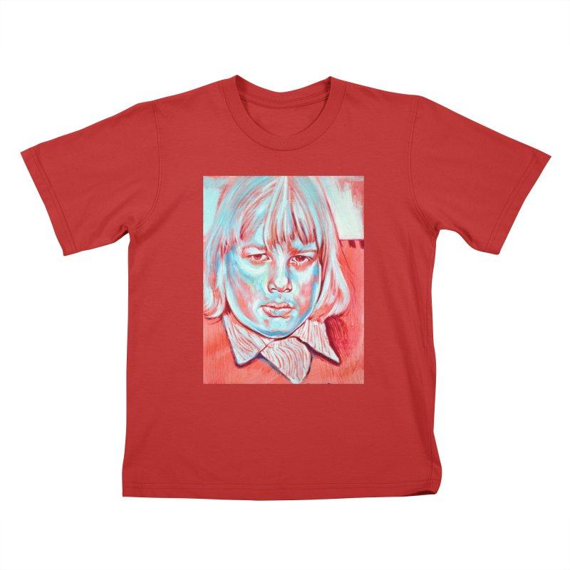 boris johnson Kids T-Shirt by paintings by Seamus Wray