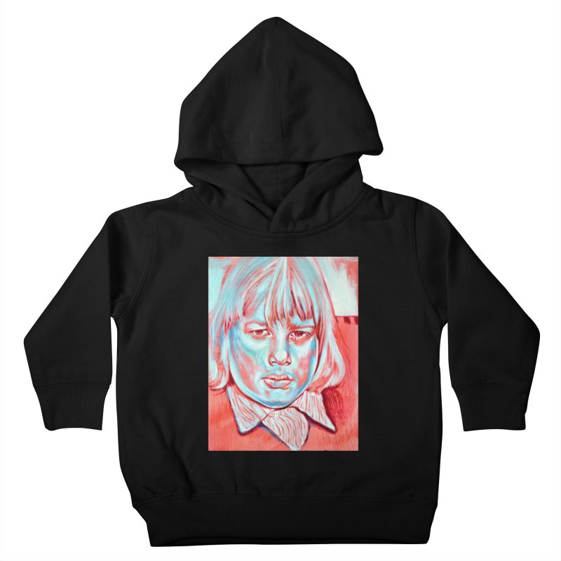 boris johnson Kids Toddler Pullover Hoody by paintings by Seamus Wray