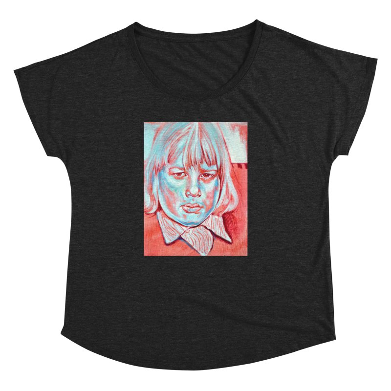boris johnson Women's Dolman Scoop Neck by paintings by Seamus Wray