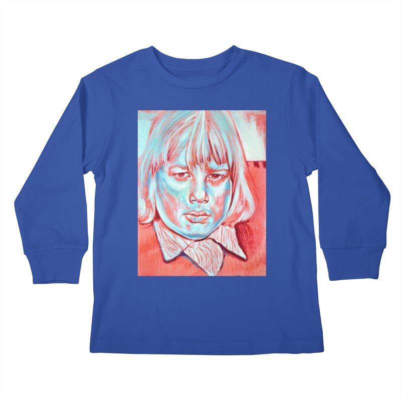 boris johnson Kids Longsleeve T-Shirt by paintings by Seamus Wray