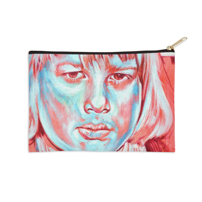 boris johnson Accessories Zip Pouch by paintings by Seamus Wray