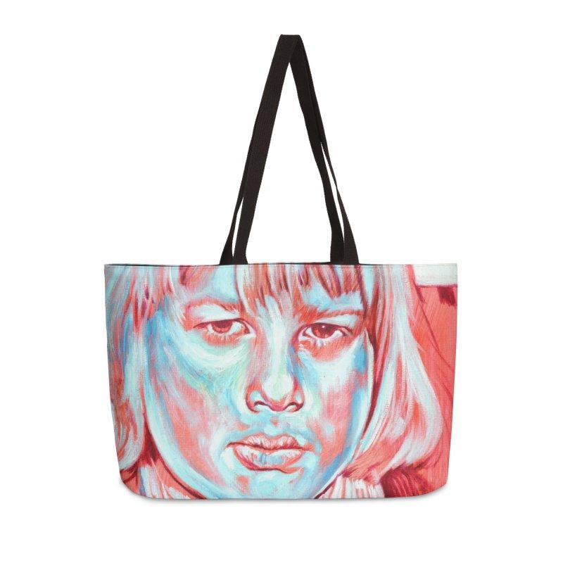 boris johnson Accessories Weekender Bag Bag by paintings by Seamus Wray