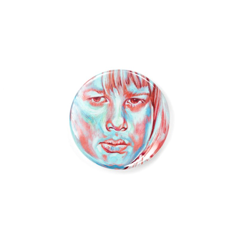 boris johnson Accessories Button by paintings by Seamus Wray