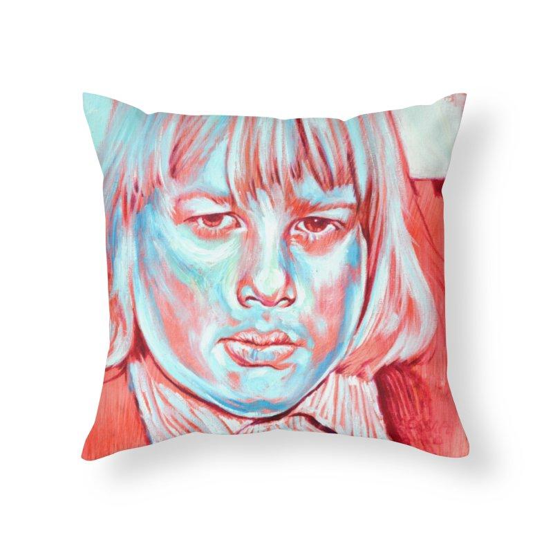 boris johnson Home Throw Pillow by paintings by Seamus Wray