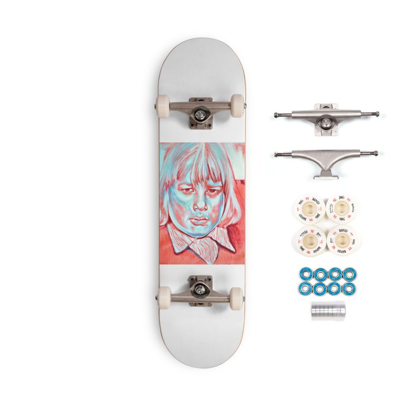boris johnson Accessories Complete - Premium Skateboard by paintings by Seamus Wray