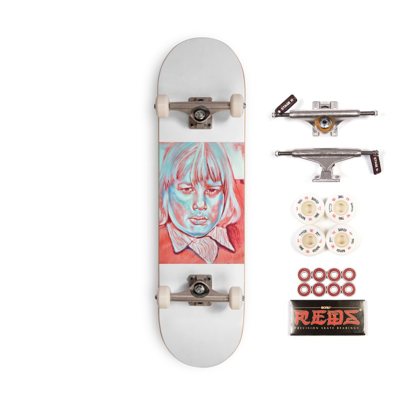 boris johnson Accessories Complete - Pro Skateboard by paintings by Seamus Wray