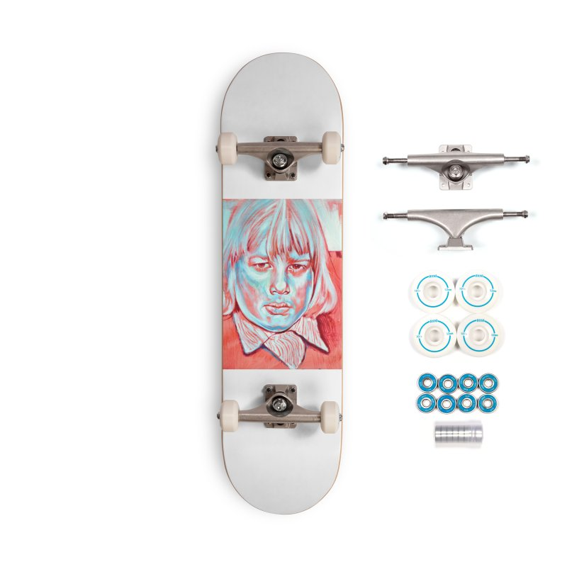 boris johnson Accessories Complete - Basic Skateboard by paintings by Seamus Wray