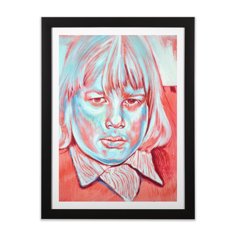 boris johnson Home Framed Fine Art Print by paintings by Seamus Wray
